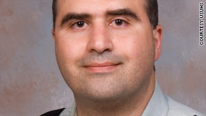 Nidal Malik Hasan, an Army psychiatrist accused of the Fort Hood shootings, met with his attorney for an hour Thursday.