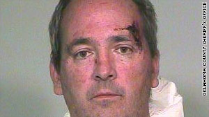 Police say officers disarmed Dr. Stephen Wolf, 51, when they arrived at his home in Nichols Hill, Oklahoma.
