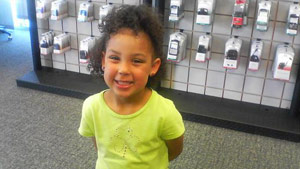Shaniya Davis, 5, was reported missing last week. Authorities have identified the body as hers.
