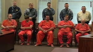 Burrell Mohler Sr Far Right And His Four Sons Were Arrested Last Week
