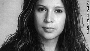 Brenda Sierra, 15, was found dead at the foot of a cul de sac, 50 miles from home.