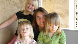 Christine Belford was reunited with her three daughters, who were kidnapped by their father for 19 months.