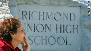 The attack occurred during a homecoming dance on October 24 at Richmond High School in northern California.