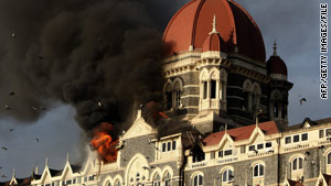 The November 2008 terror attacks in Mumbai, India, which included the siege at the Taj Mahal hotel, killed 160 people.