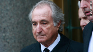 Madoff, 71, pleaded guilty in March to 11 counts related to running the most massive Ponzi scheme in history.