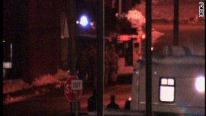 The nearly nine-hour hostage standoff ended late Wednesday night in Wytheville, Virginia.