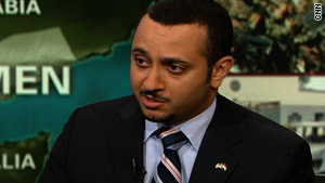 Spokesman for Yemen's Embassy to the United States acknowledges Yemen's problems with local al Qaeda group.