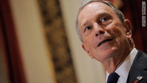 Mayor Michael Bloomberg says New York is on track toward its fewest number of murders in one year since reliable records have been kept.