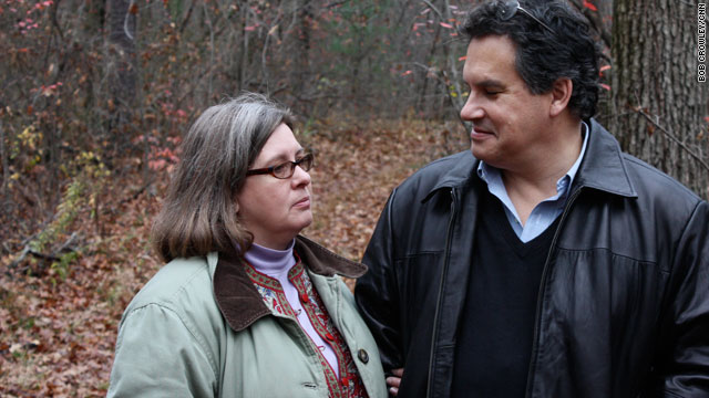 "Debra and Christopher Bader revisit the spot in the woods where Christopher collapsed after going into cardiac arrest. Debra saved him with compression-only CPR done to the beat of the disco tune ""Stayin' Alive."""