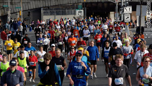 Marathons are safe for most, but some runners may have an underlying heart condition, doctors say.