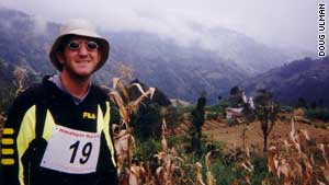 Doug Ulman recovered from cancer three times. He has since run a 100-mile race in the Himalayas.