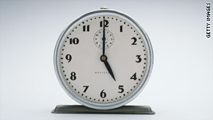 Don't forget to turn back your clock one hour. Daylight saving time ends at 2 a.m. Sunday.