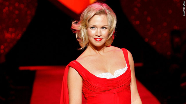 Actress Jennie Garth found out at age 30 that she had a leaky heart valve.