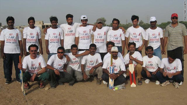 The First Positive Cricket Team.