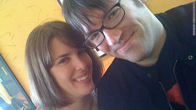 Shawn Decker and Gwenn Barringer have been married for five years. Decker is HIV positive.