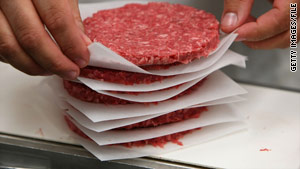 Investigators have found an association between recalled ground beef and two ill people, a federal agency says.