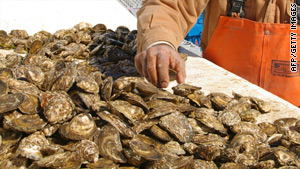 Oysters harvested from San Antonio Bay have been found to be contaminated with a highly contagious virus.