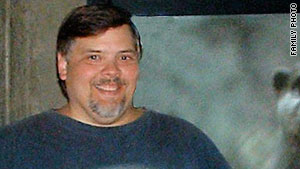 Gordon Heitman, 46, weighed 464 pounds when he started an 800-calorie-a-day diet.