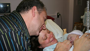 Dina Ste. Marie was told she'd need a C-section, but a simple change in position allowed Isabella to come out vaginally.