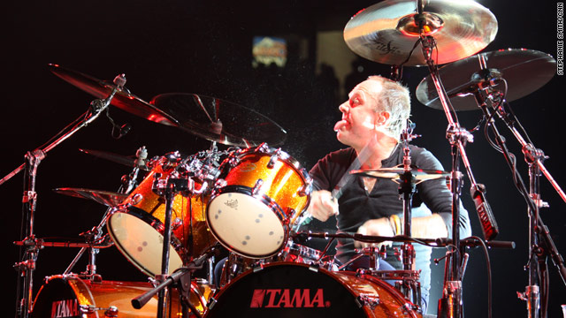 Metallica's Lars Ulrich, 46, uses earplugs to protect himself after developing tinnitus, a perception of sound where there is none.