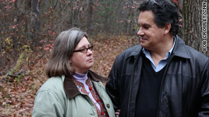 """Debra Bader saved her husband, Christopher, with compression-only CPR to the beat of """"Stayin' Alive."""""""