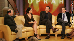 """""""Seinfeld"""" characters never broke up despite annoying the heck out of each other."""