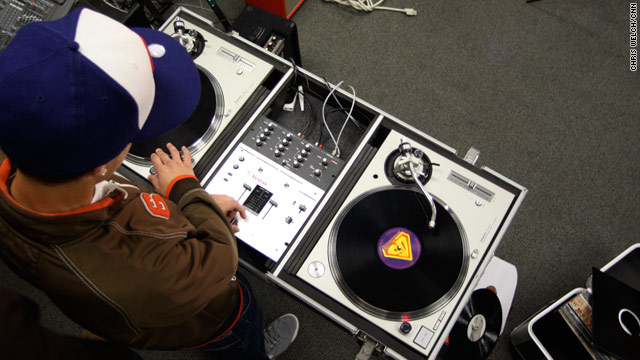Students at McNally Smiith College of Music can study DJ techniques.