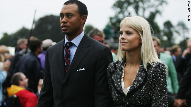 Elin Nordegren entered a high-profile world when she married superstar golfer Tiger Woods.