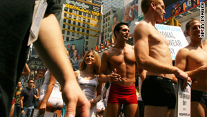 A postcard inspired briefs, while the Secret Service gave a boost to boxers.