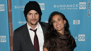 Famous cougar Demi Moore is married to  Ashton Kutcher, who is 15 years her junior.