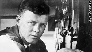 Aviator Charles Lindbergh said the 'Third Man' presence helped him survive his famed transatlantic flight.