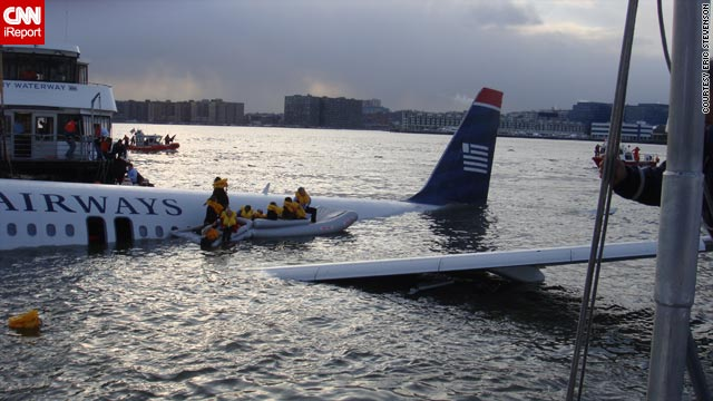All the passengers and crew members survived when US Airways Flight 1549 landed in the Hudson River on January 15.
