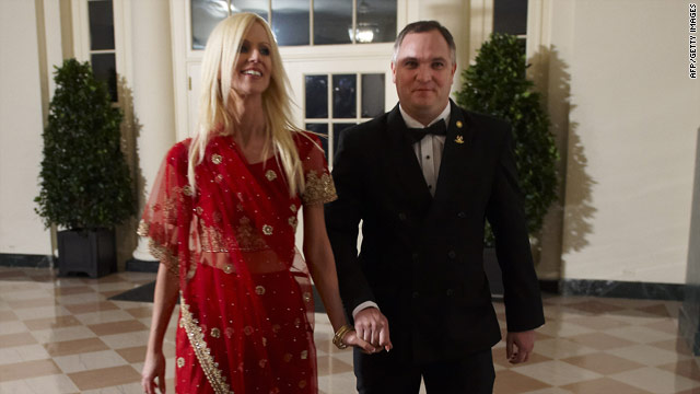 Michaele and Tareq Salahi crash a White House state dinner in an apparent attempt to have a better shot at a reality show.