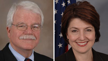 Reps. George Miller and Cathy McMorris Rodgers