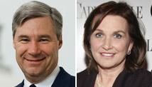 Sen. Sheldon Whitehouse and Elizabeth Edwards