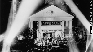 """Gone with the Wind"" premiered at the Loews Grand in Atlanta 70 years ago. Black cast members could not attend due to segregation in the South."