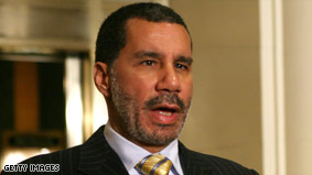 David Paterson has said he'd sign a same-sex if it's passed by the New York ...