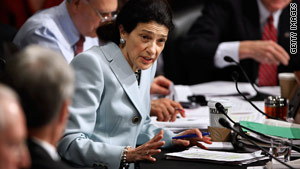 Sen. Olympia Snowe has been the only GOP supporter of health care legislation.