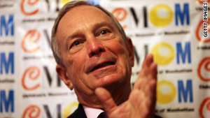 New York Mayor Michael Bloomberg, an independent, leads in the polls in the race to keep his job.