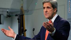 Sen. John Kerry says pulling U.S. troops out of Afghanistan could destabilize neighboring Pakistan.