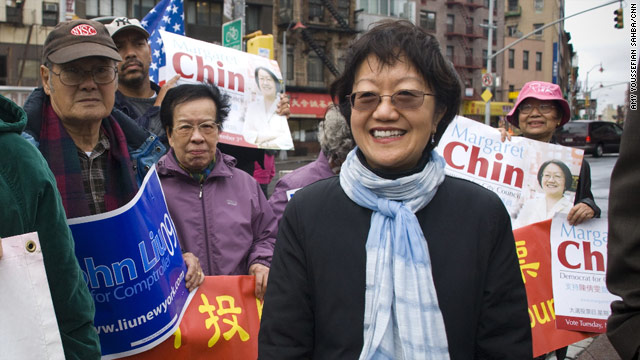 Margaret Chin is expected to win the November 3 election to represent New York's Chinatown.