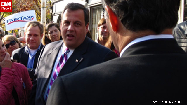 Former federal prosecutor Chris Christie defeated incumbent New Jersey Gov. Jon Corzine.