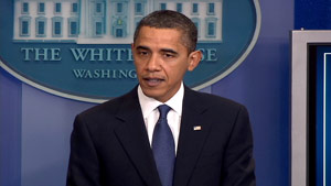 President Obama on Thursday urges lawmakers to listen to the AARP and AMA and pass health care legislation.