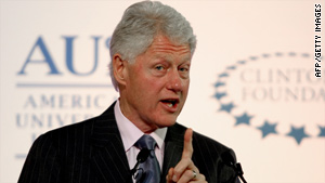 Bill Clinton will talk to Senate Democrats on Tuesday, two senior Democratic sources tell CNN.