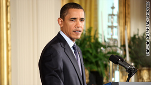 "President Obama praised the House vote on the bill and called on the Senate to ""take the baton"" and complete its work."