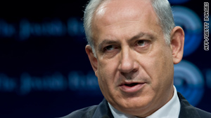 "Israeli Prime Minister Benjamin Netanyahu told a Jewish federation that his goal is for a ""permanent peace treaty."""
