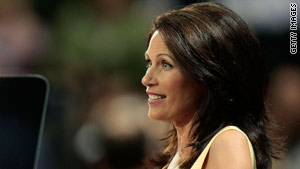 Rep. Michele Bachmann spoke during the Republican National Convention in 2008.