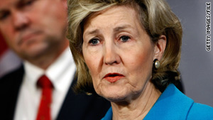 Sen. Kay Bailey Hutchison is seeking to unseat fellow Republican Rick Perry as governor of Texas.