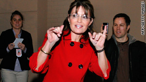 Sarah Palin has begun a cross-country book tour.