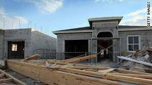 A 10.6 percent decline in housing starts in October is the latest indicator of continuing economic trouble.